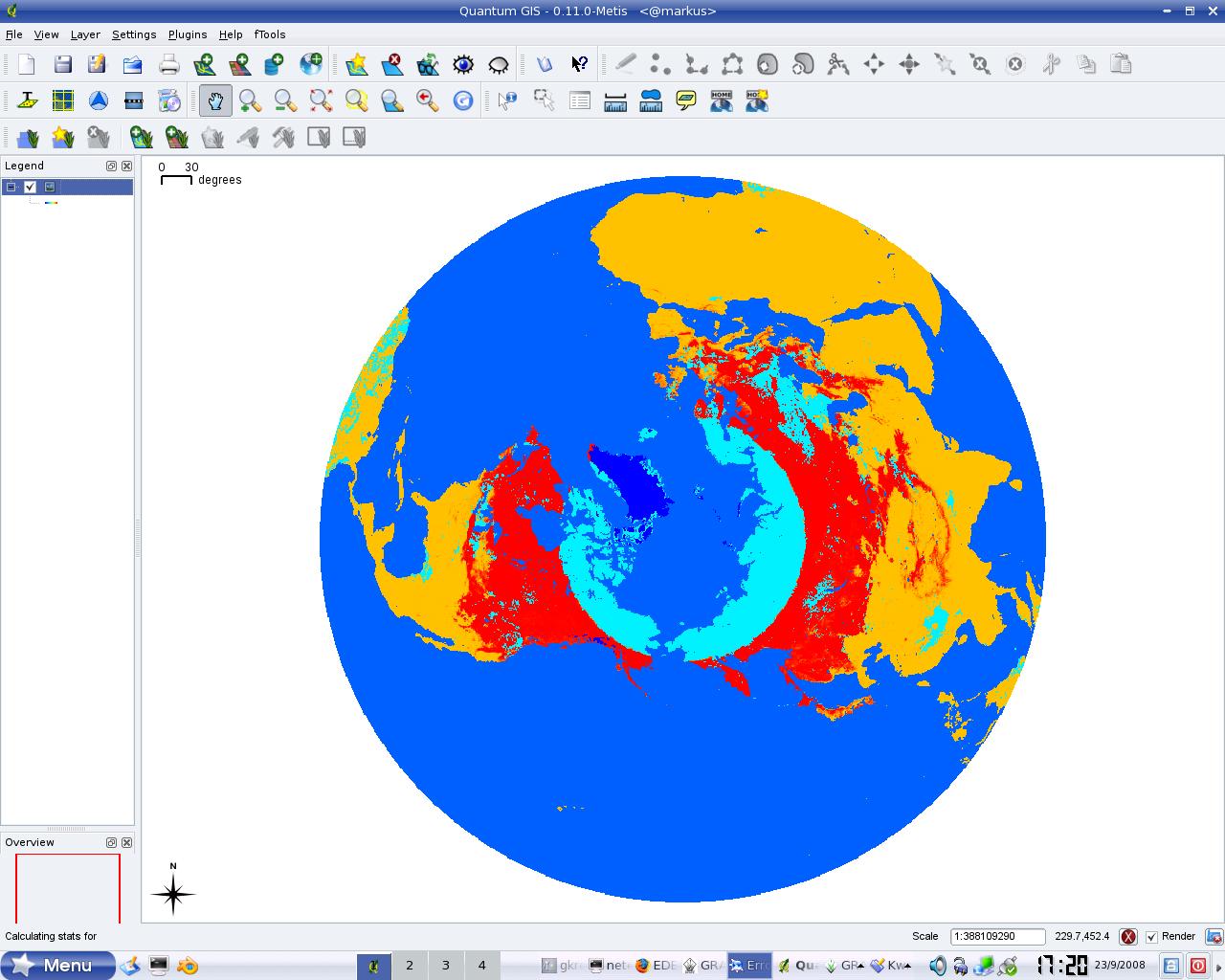 2584 (NetCDF Global EASE-Grid 8-day Blended SSM/I and MODIS