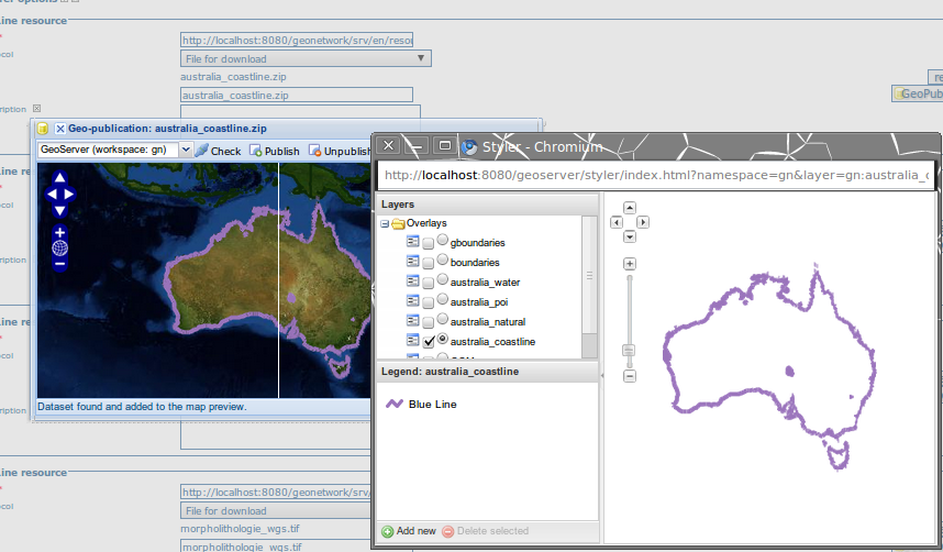 geoserver developer I'm having trouble getting a wms layer from my geoserver to display in my arcgis test application i'm just learning the arcgis javascript api for my.