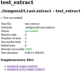 one t.rast.extract test file report page (week 10)