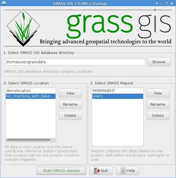 Grass7/NewFeatures – GRASS GIS