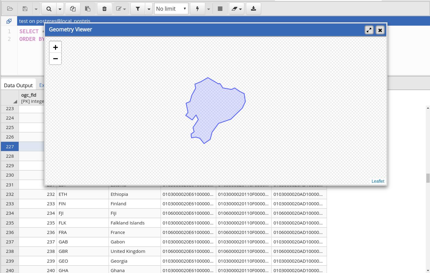 GeospatialDataViewerInPgAdmin4ForPostGIS_FinalReport – PostGIS