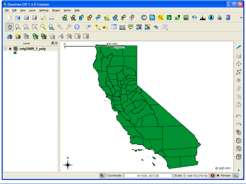 3746 (Not recognizing Shapefile Projection) – QGIS