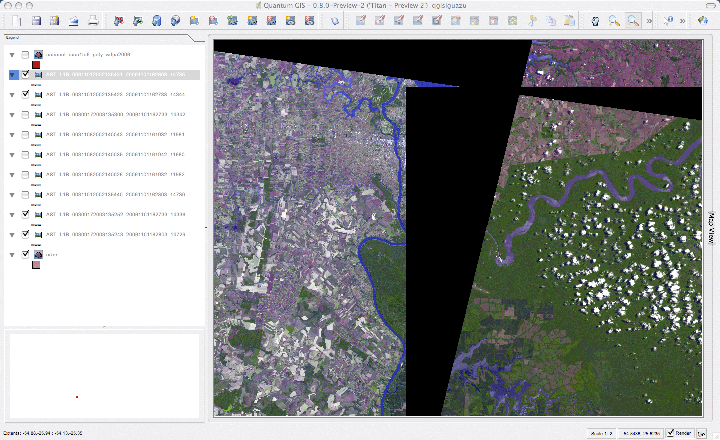 443 (No Data Value for three band images) – QGIS